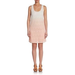 C & C California Dip Dyed Ombré Lace Tank Dress